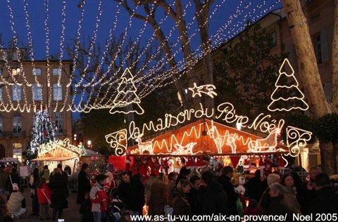 Marché de Noël à Aix