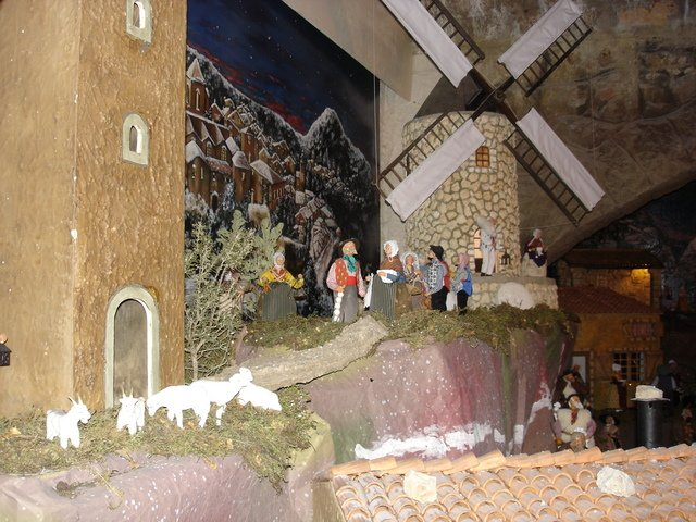 Crèche à Allauch